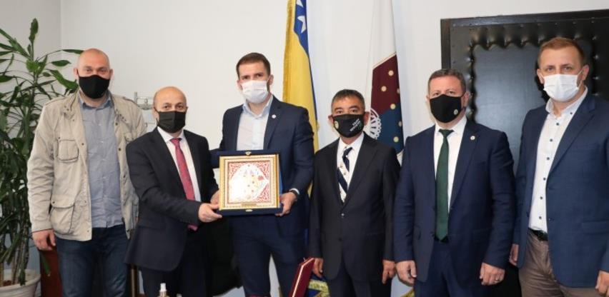 Generalna direkcija šumarstva Turske gost VII Šumarijade Federacije BiH