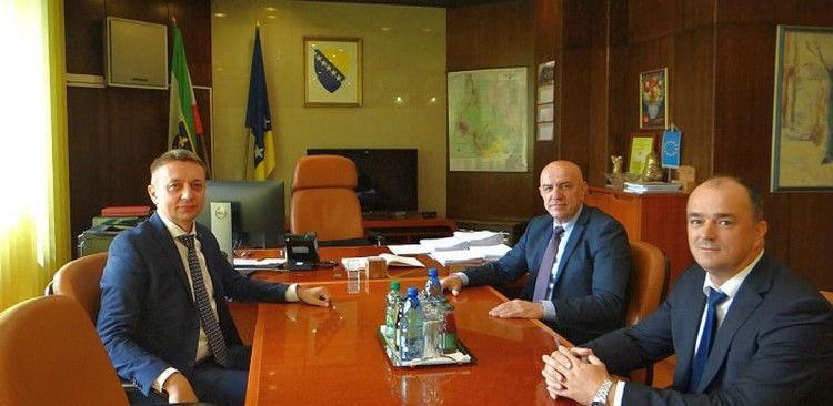 """Predsjednik uprave """"AS Group"""" posjetio Zeničko-dobojski kanton"""