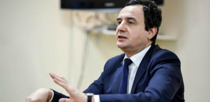 Kurti od 15. marta ukida takse na sirovine iz BiH i Srbije
