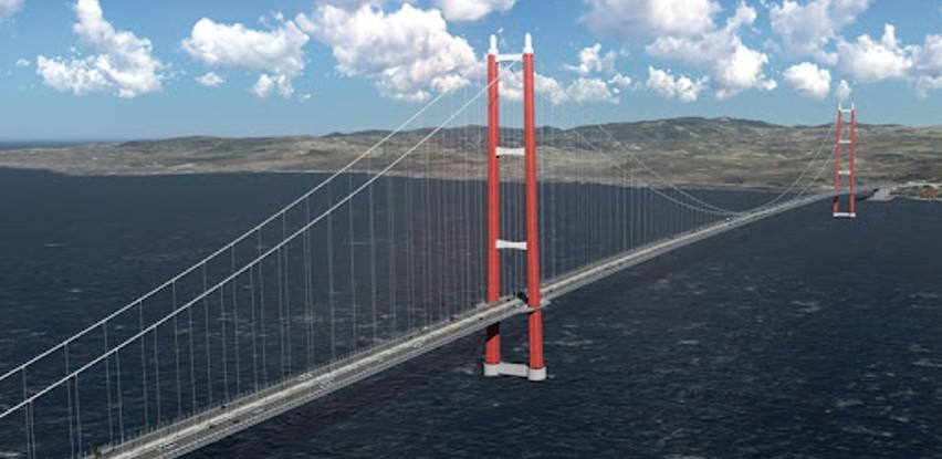 Pogledajte kako će izgledati najduži viseći most na svijetu Canakkale 1915