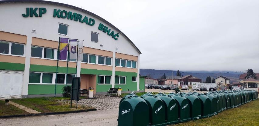 Bihać dobio 50 novih kontejnera za reciklažu stakla