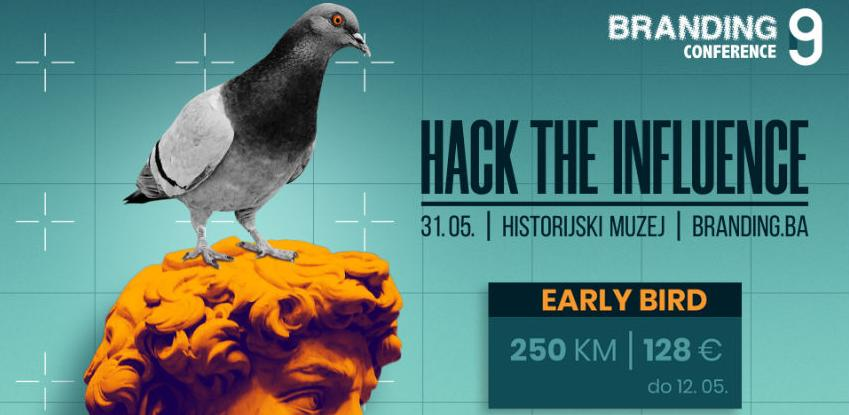 Early bird kotizacije za 9. Brending konferenciju možete uloviti još do 12. maja