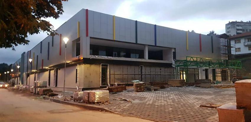 Radovi na izgradnji tržnog centra Bingo u Jajcu u završnoj fazi