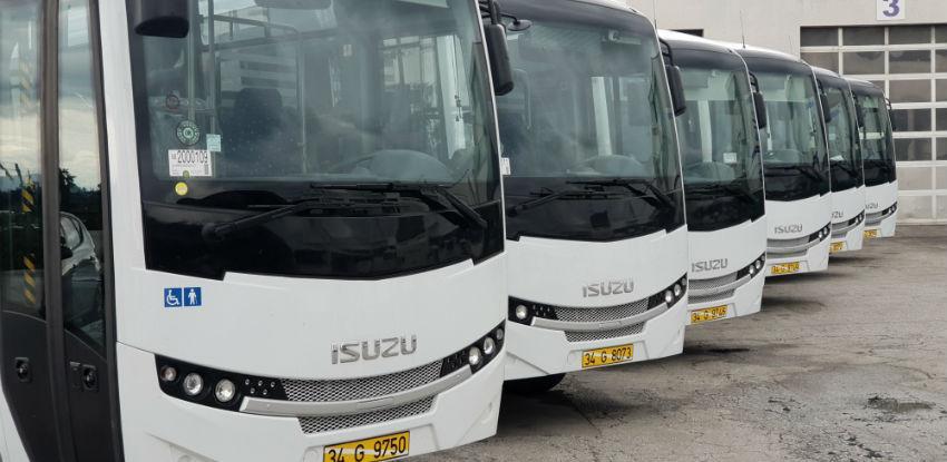 Vozni park kompanije Centrotrans bogatiji je za 12 novih autobusa
