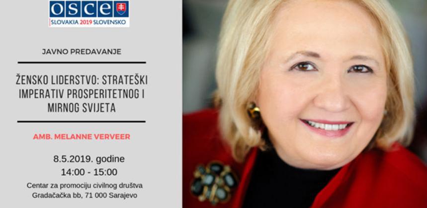"""""""Žensko liderstvo: Strateški imperativ prosperitetnog i mirnog svijeta"""""""