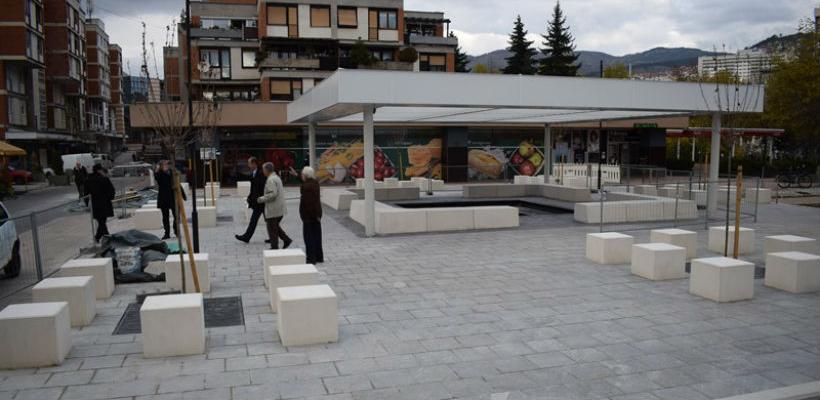 Radovi na uređenju dijela Merhemića trga u završnoj fazi