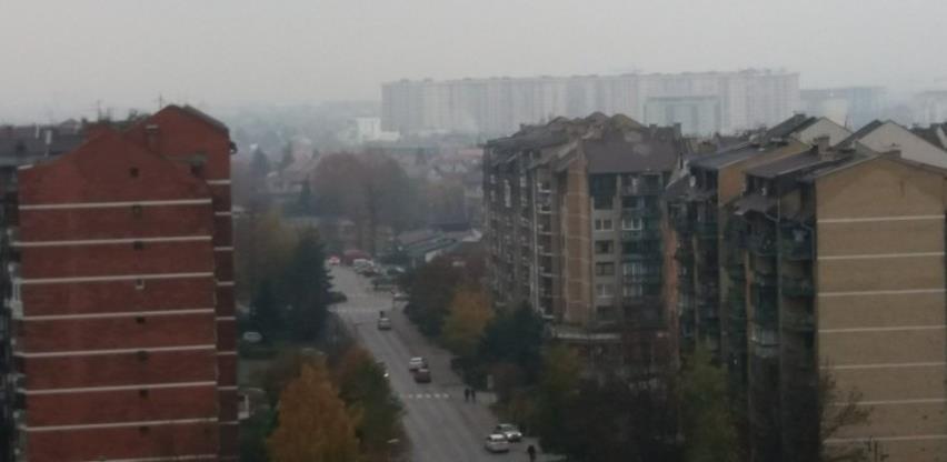 Trend zagađenja zraka u KS i u naredna tri dana