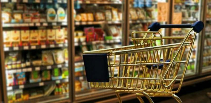 Sindikalna potrošačka korpa za juni skuplja 54,30 KM u odnosu na maj