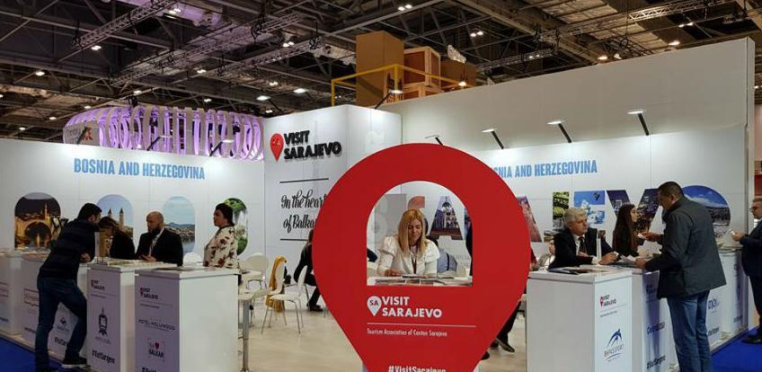 Promocija Sarajeva na sajmu WTM u Londonu