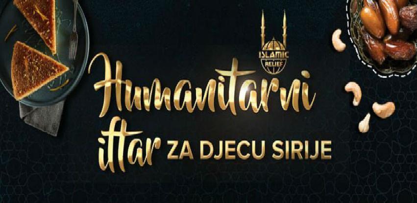 Humanitarni Iftar za djecu Sirije