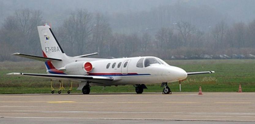 Avion Vlade RS-a najviše bio aktivan tokom ljetnih mjeseci