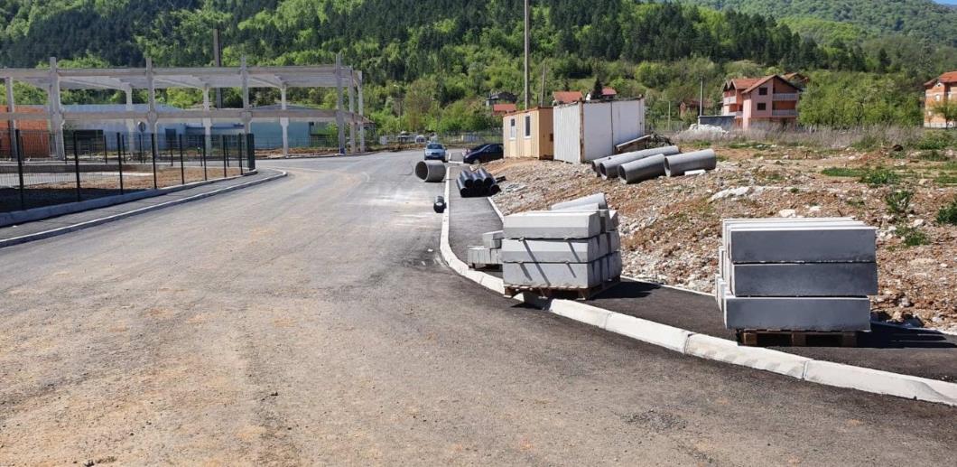 U Jablanici uređuje se put od harema Jasen sa lokaliteta Unisa