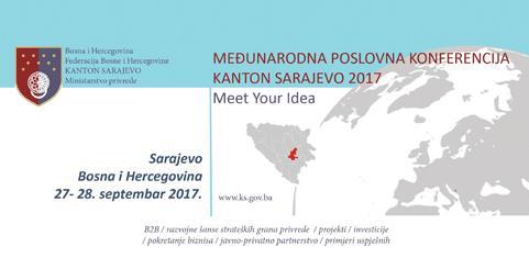 Međunarodna poslovna konferencija Kanton Sarajevo 2017