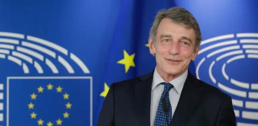 Sassoli: Širenje Unije na Balkan je pozitivan projekat za mir