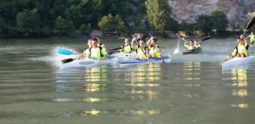 Na Zvorničkom jezeru u nedjelju Međunarodno takmičenje u kajaku i kanuu