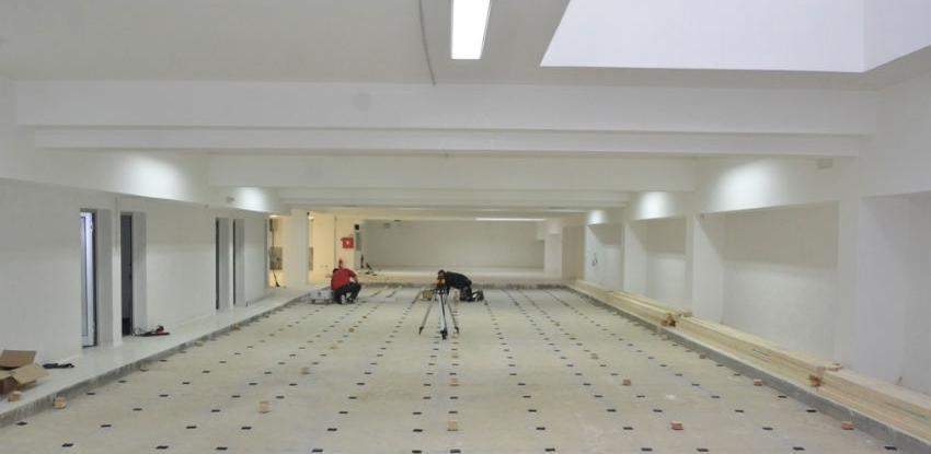 U Sportskoj dvorani Novo Sarajevo počela prva faza montiranja kuglane