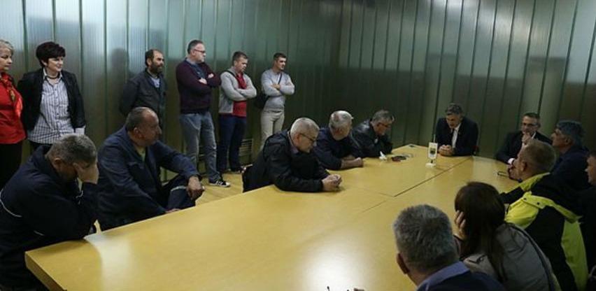 Gradonačelnik ispunio obećanje i pomogao radnike JKP Zenicatrans-prevoz putnika