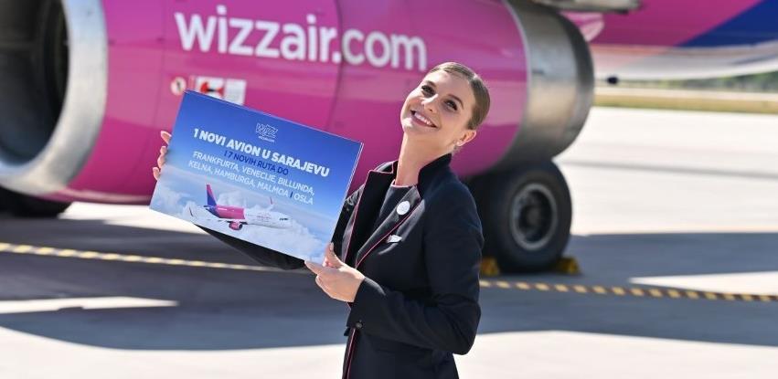 Wizz Air uspostavlja sedam novih linija iz Sarajeva