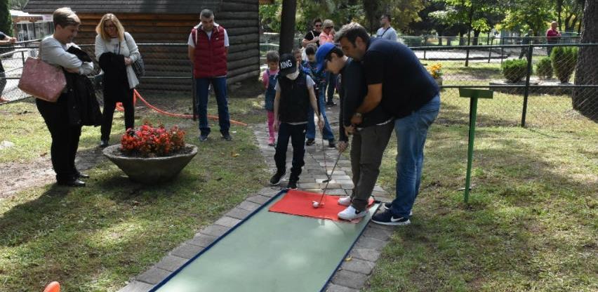 U Pionirskoj dolini otvoren obnovljeni mini golf teren