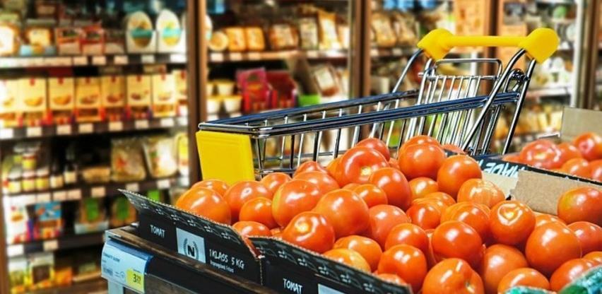 U trgovini prehrambenim proizvodima promet u aprilu pao za 23 posto