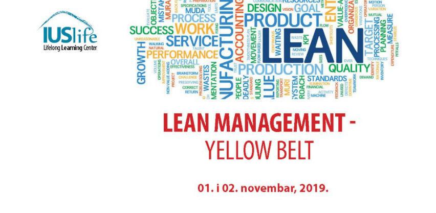 Uvodni seminar iz oblasti Lean Management-a na IUS-u