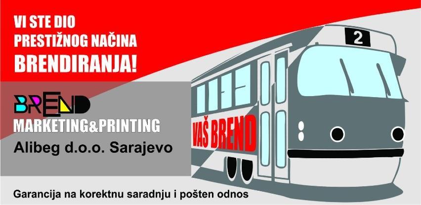 Zakači se za svoj tramvaj: Brendiraj svoje vozilo gradskog saobraćaja Sarajevo