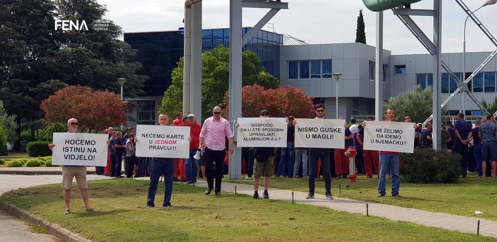 Radnici Aluminija: Abraham grupa ne traži povlaštenu cijenu električne energije