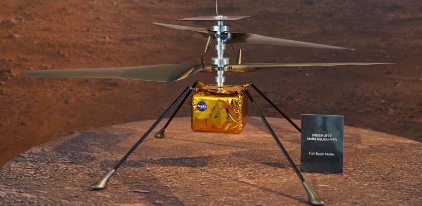 NASA uspješno sprovela historijski let robotom helikopterom na Marsu