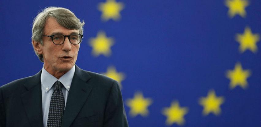 David-Marija Sasoli izabran za predsjednika EP