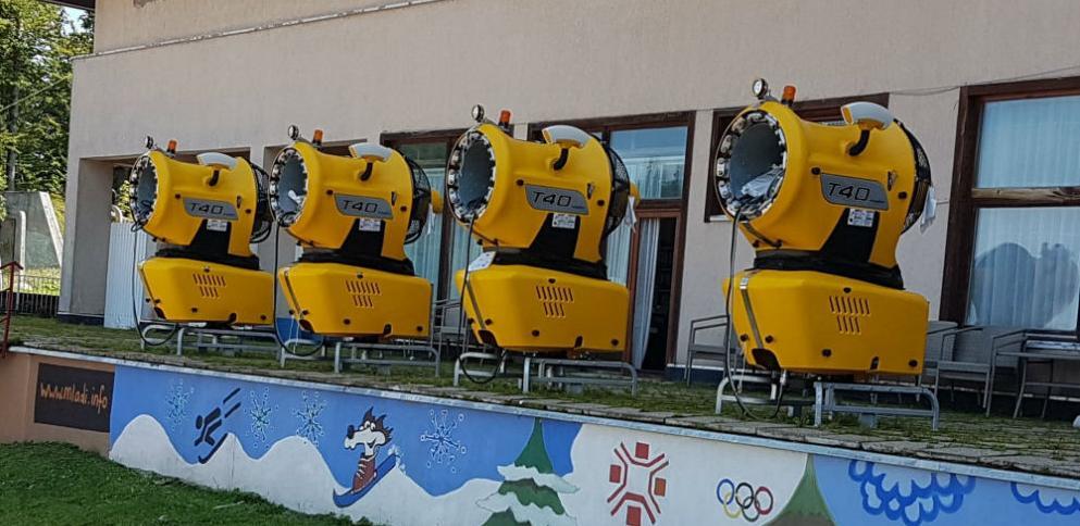 Na Jahorinu stigla 24 dodatna topa za snijeg i 40 lansera