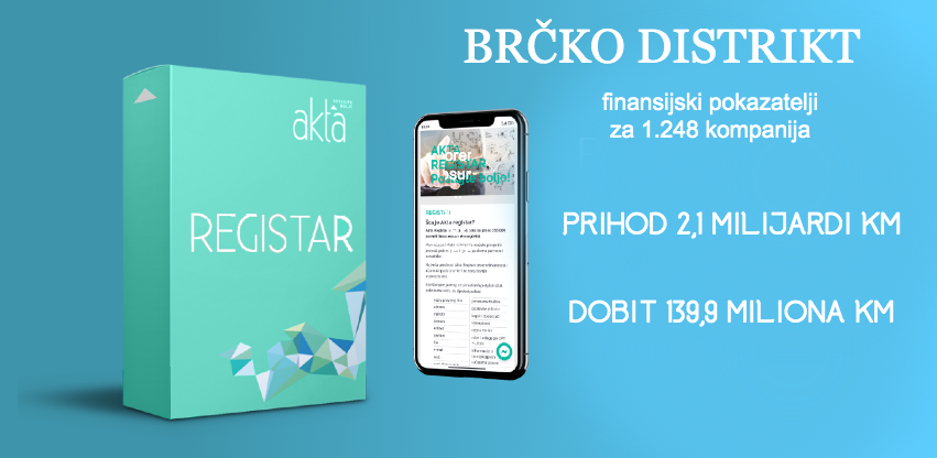 Rezultati poslovanja kompanija Brčko Distrikta dostupni na Akta.ba