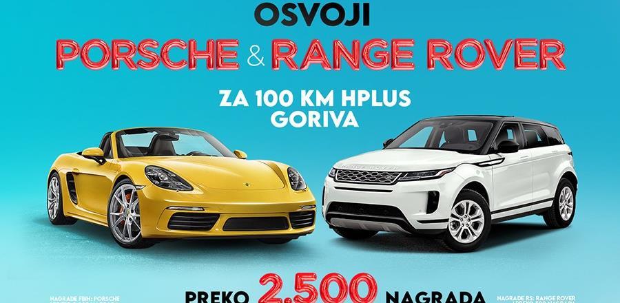Hifa Petrol nagrađuje: Osvoji Porsche, Range Rover i preko 2.500 nagrada