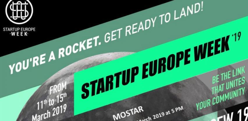Otvorene prijave za Startup Europe Week Mostar 2019.