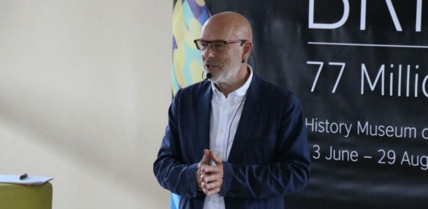 Brian Eno u Historijskom muzeju BiH govorio o životu, umjetnosti i tehnologiji