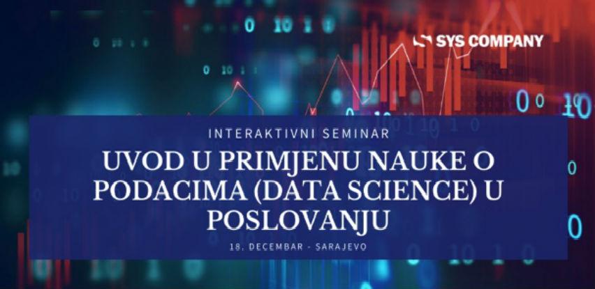 Uvod u primjenu nauke o podacima (Data Science) u poslovanju