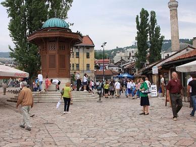 Stečeni uslovi za rekonstrukciju Baščaršijskog trga
