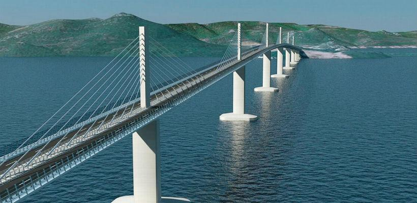 Prihvaćeni zahtjevi bh. strane: Gradnja Pelješkog mosta počinje najesen