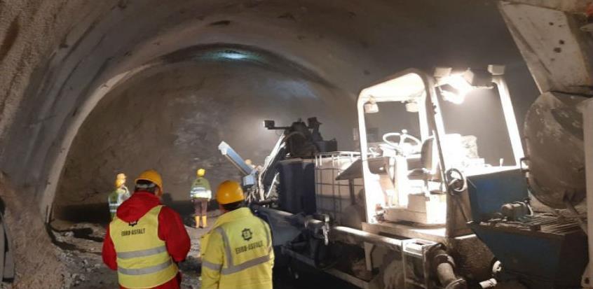 Dosad iskopano 310 metara tunela Hranjen