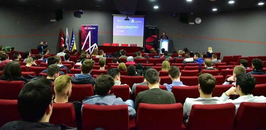 Održano predavanje BITA4Students na Internacionalnom univerzitetu u Sarajevu