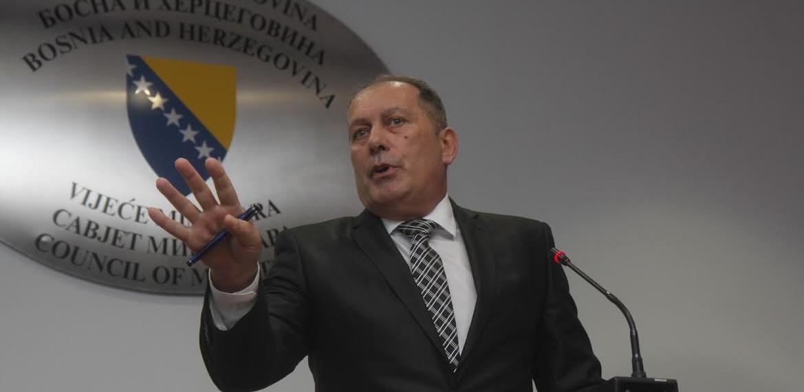 Ministar sigurnosti BiH: Mafiju je moguće poraziti samo oduzimanjem imovine