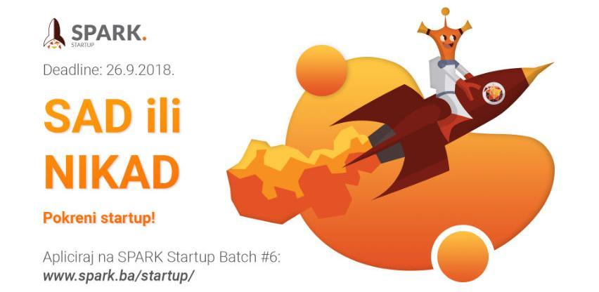 Spark Startup Batch #6: Prijave otvorene još dva dana
