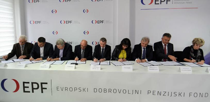 Evropski dobrovoljni penzijski fond zvanično počeo sa radom