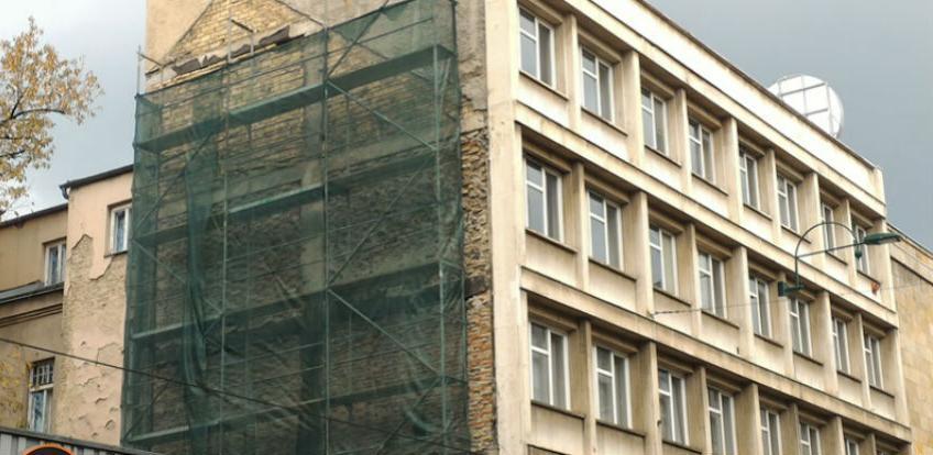 Sarajevo dobiva prvu 'zelenu fasadu'