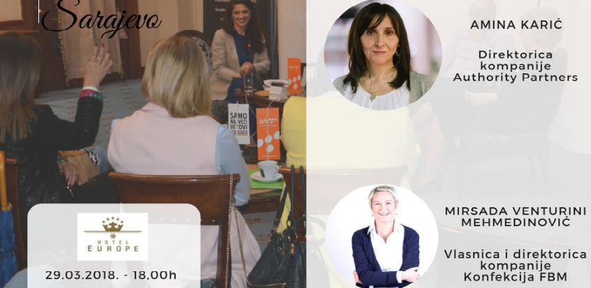 21. Business cafe u Sarajevu: Žene na čelu uspješnih IT i modnih kompanija u BIH