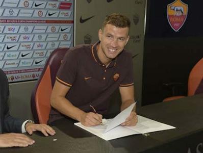 Džeko zvanično novi igrač Rome, City se oprostio od bh. ''dijamanta''