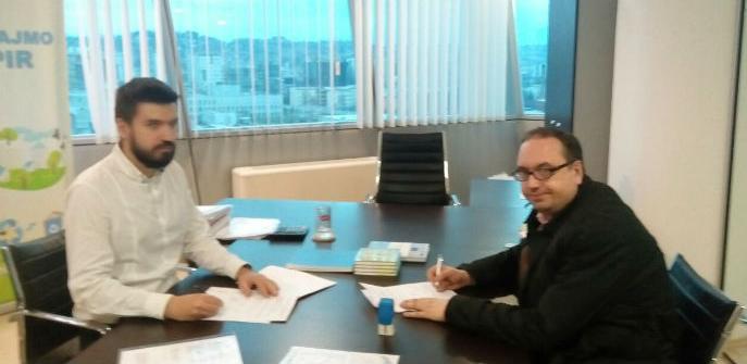 TRA Tešanj i Geotest potpisli ugovor o realizaciji projekta