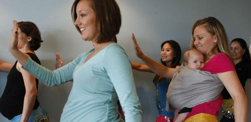 Plesom do lakšeg poroda - Edukativni časovi za buduće majke uskoro u Sarajevu