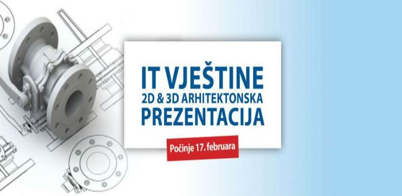 IT vještine 2D & 3D arhitektonska prezentacija