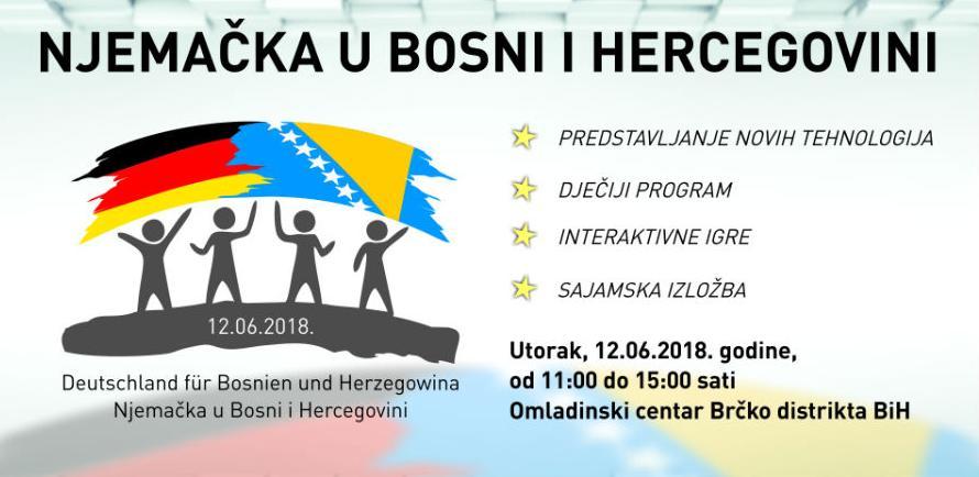 """Događaj """"Njemačka u Bosni i Hercegovini"""" 12. juna u Brčkom"""