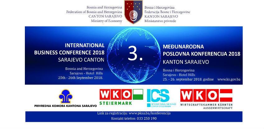 Međunarodna poslovna konferencija Kanton Sarajevo 2018